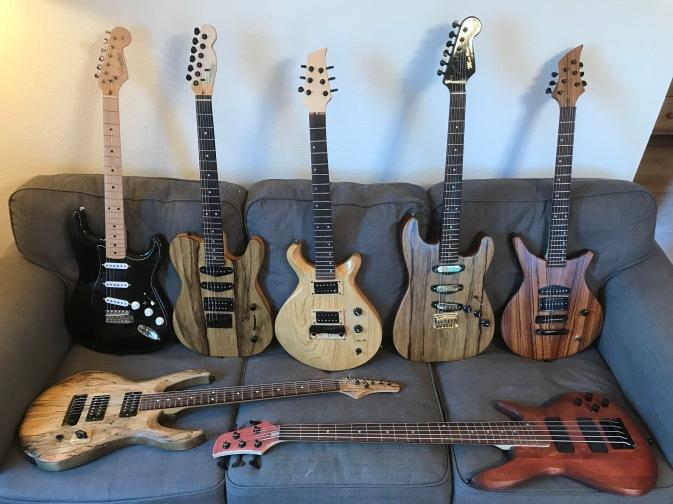 guitar family