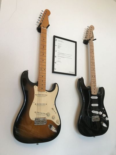 Pair of Stratocasters